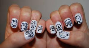 Meme Nails :D