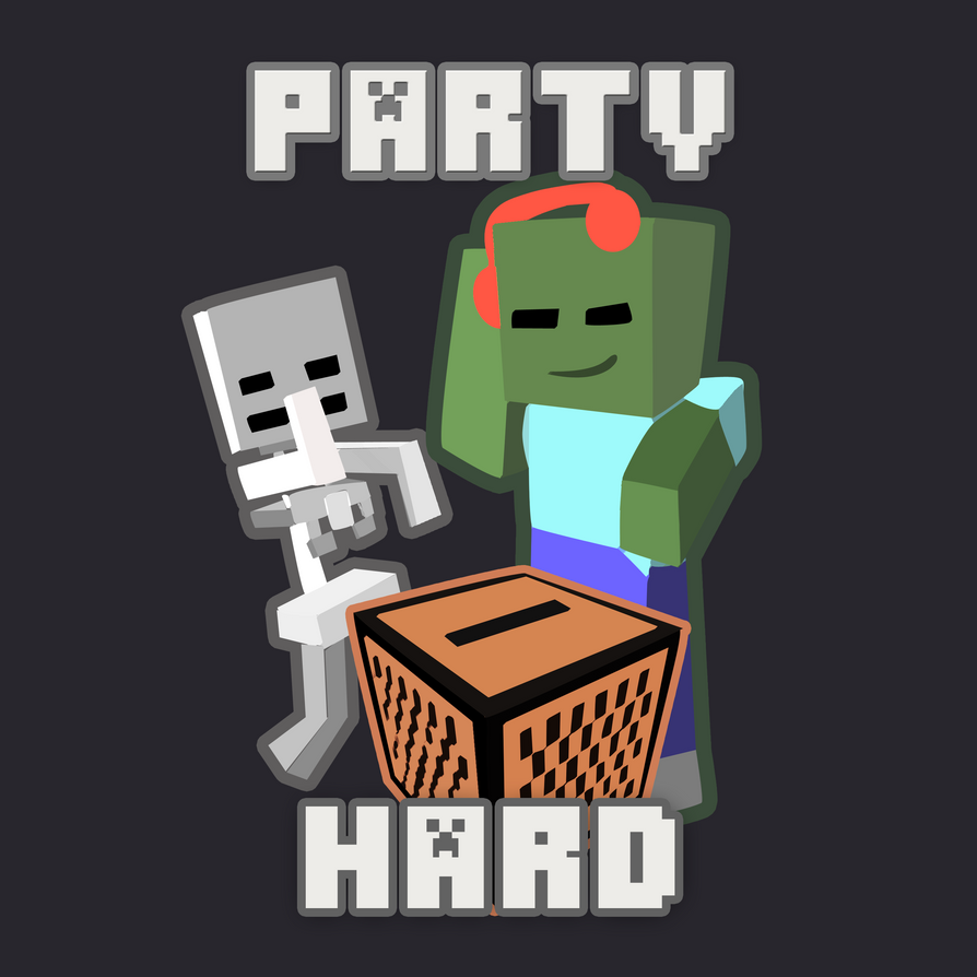 Partyhard design finalized by King-Eskimo