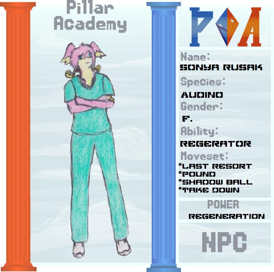 PA: Nurse Rusak by eternanyx