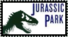 Jurassic Park novel stamp by ZZsStamps