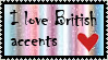 British accent stamp by ZZsStamps