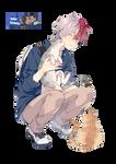 Boku no Hero Academia - Todoroki Shouto render
