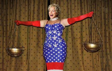 Kim Curvy Lady Justice by hngr2013