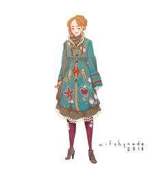 Aaron - Annabelle Automn Outfit by WitchyNade