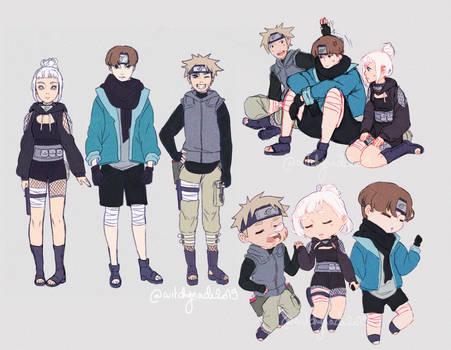Commission # 35 - Naruto team