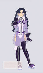 [CM#83] Super purple hero custom
