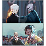 [HP] Draco and Summer by WitchyNade