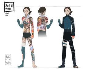 Naruto - Profile Ref sheet