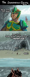 The Dragonborn Gallops 1. by kuoke