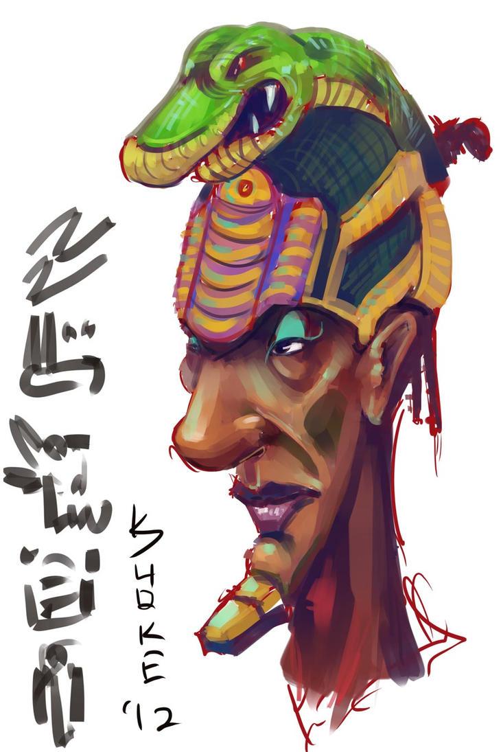 Snakeman. by kuoke