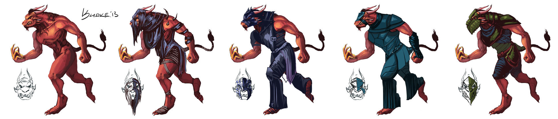 Charr Suits by kuoke