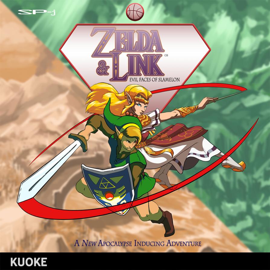 Zelda + Link: Evil Faces of Slamelon by kuoke