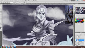 No mercy for the beauty WIP