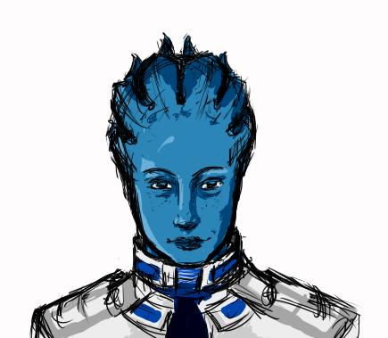 Mass Effect Liara T'soni by Amazinglagann