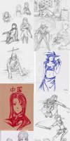 Hetalia Sketchdump 2