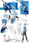 Steven Universe OC: Sapphire Blue