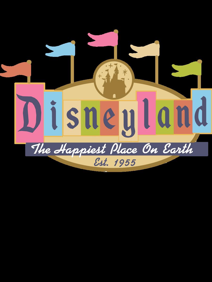 Disneyland Logo T shirt by crazedjacksparrowfan on DeviantArt