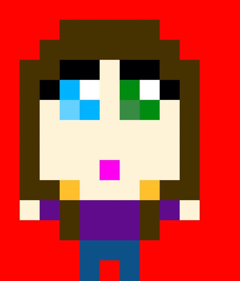 Pixel Chibi hug? by MintTaleSans