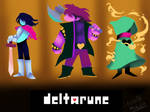Deltarune Fanart but instead I traced the cutscene