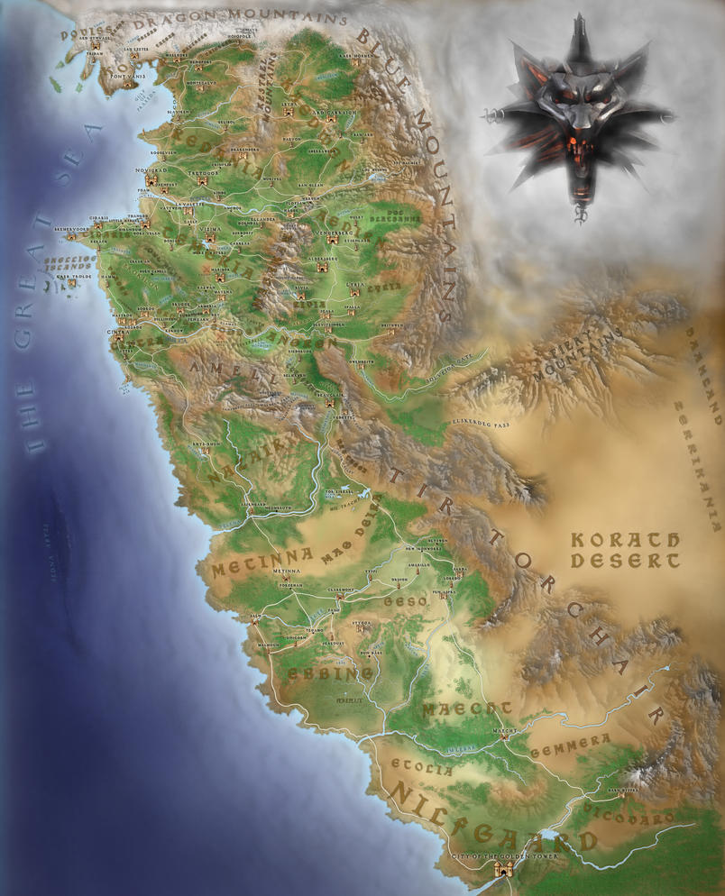 The witcher continent wip eng by ironsteffl on deviantart the witcher continent wip eng by ironsteffl gumiabroncs Image collections
