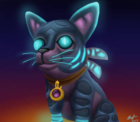 Twilight Kitten