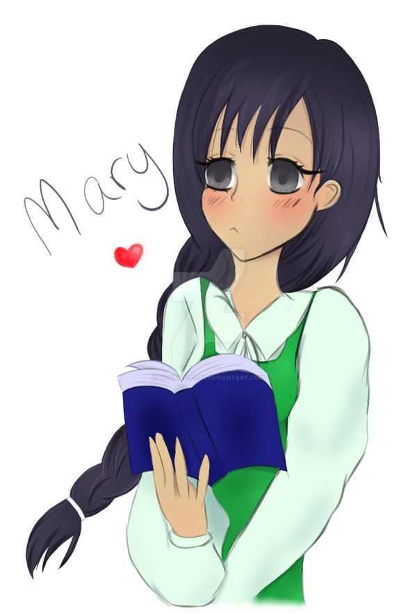 Mary Fan Art by Hollypop1993