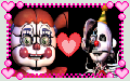 Circus Baby x Ennard Stamp by GoldMareFusion