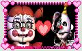 Circus Baby x Ennard Stamp by GoldMareFusion