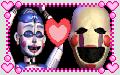 Ballora x Puppet Stamp by GoldMareFusion