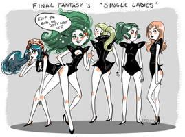 Final Fantasy Single Ladies by babochka