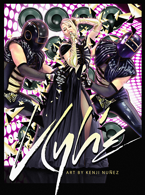Kylie X Tour:  ElectroStatic by KenjiArts