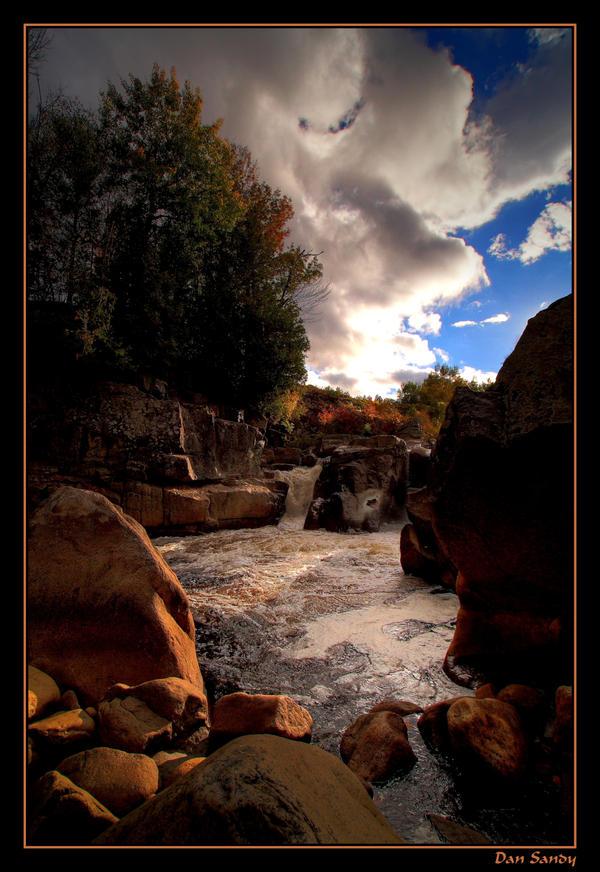 Illuminated Rocks by DanSandy