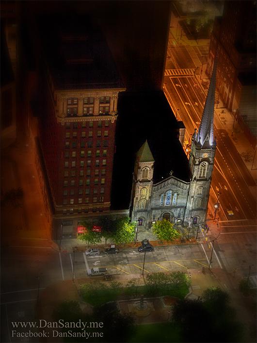 Tiny Church by DanSandy