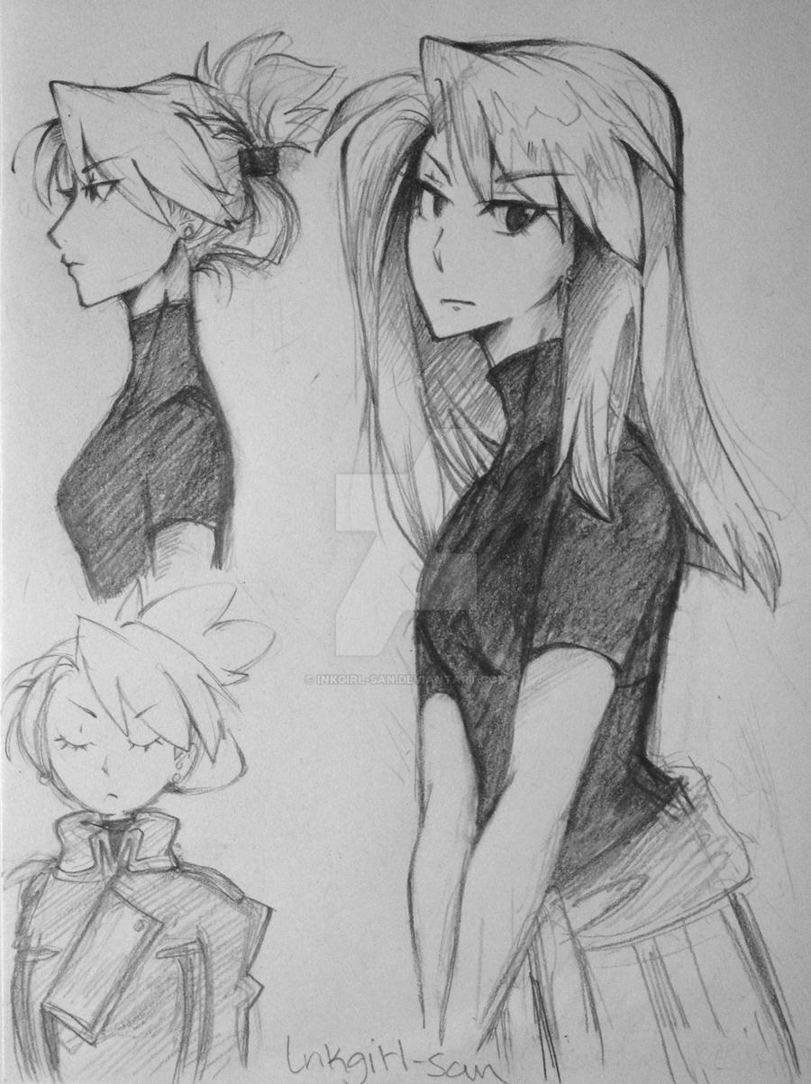 Riza Hawkeye by InkGirl-san