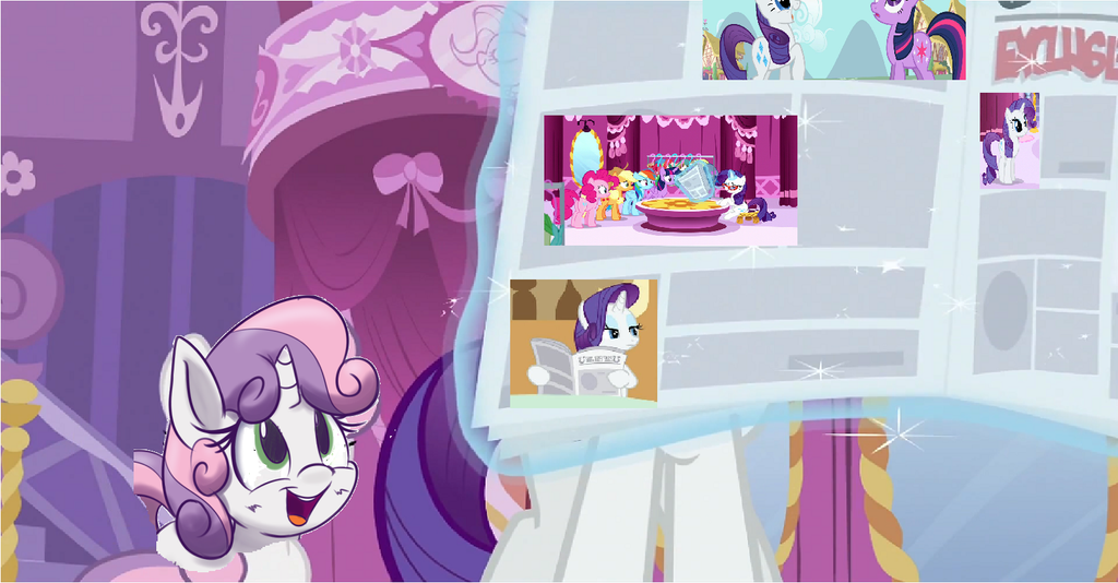 Rarity n sweetie belle by brony4lifelon