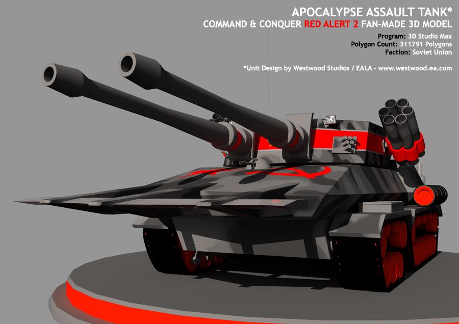 Apocalypse Tank - Final by 043152F