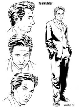 Fox Mulder Inks