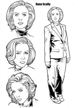 Dana Scully Inks