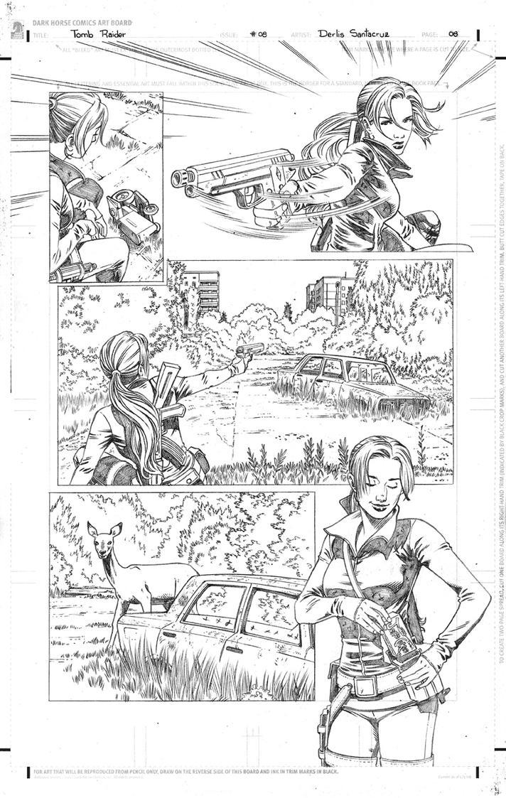 TR #08 Page 08 Pencil Low by derlissantacruz