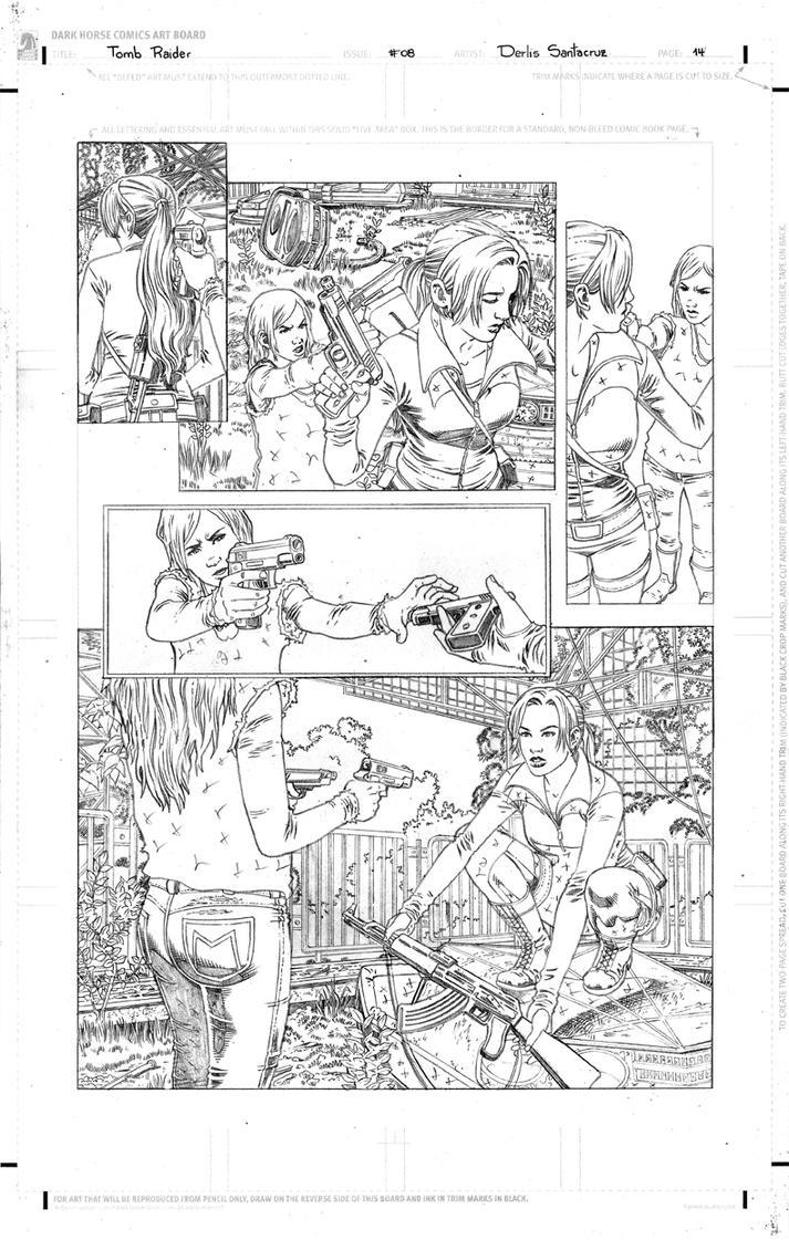 TR #08 Page 14 Pencil Low by derlissantacruz