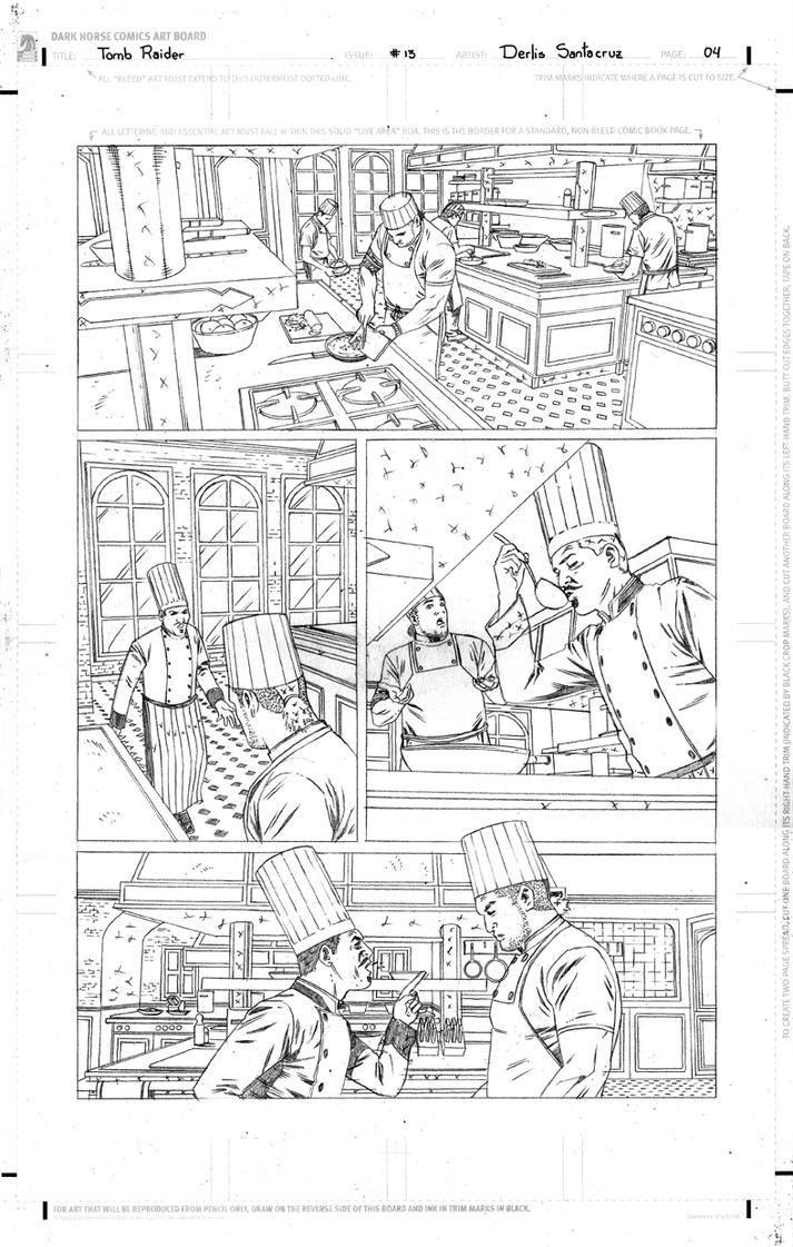 TR #13 Page 04 Pencil Low by derlissantacruz