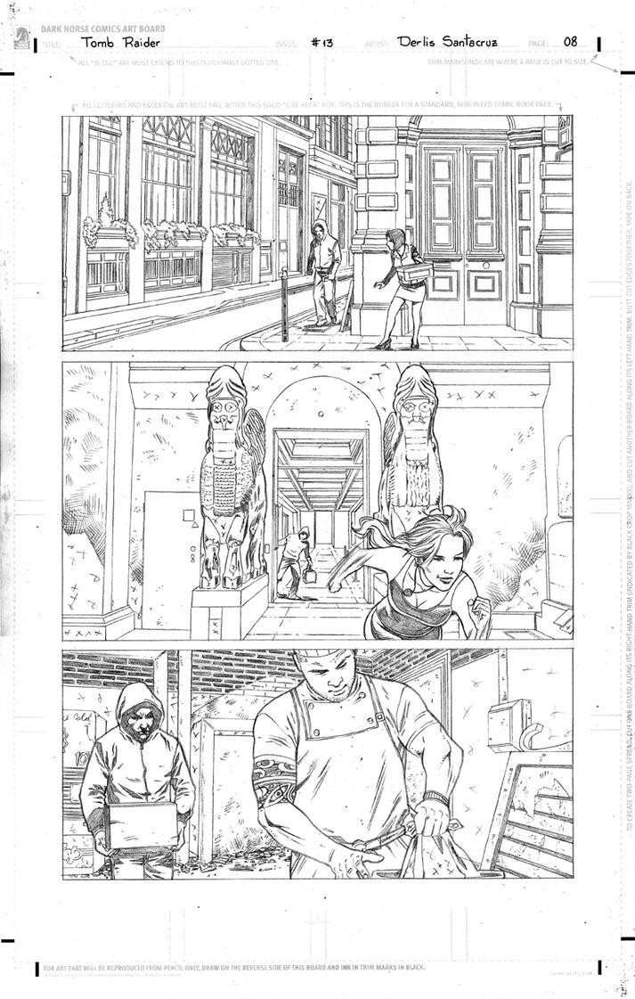 TR #13 Page 08 Pencil Low by derlissantacruz