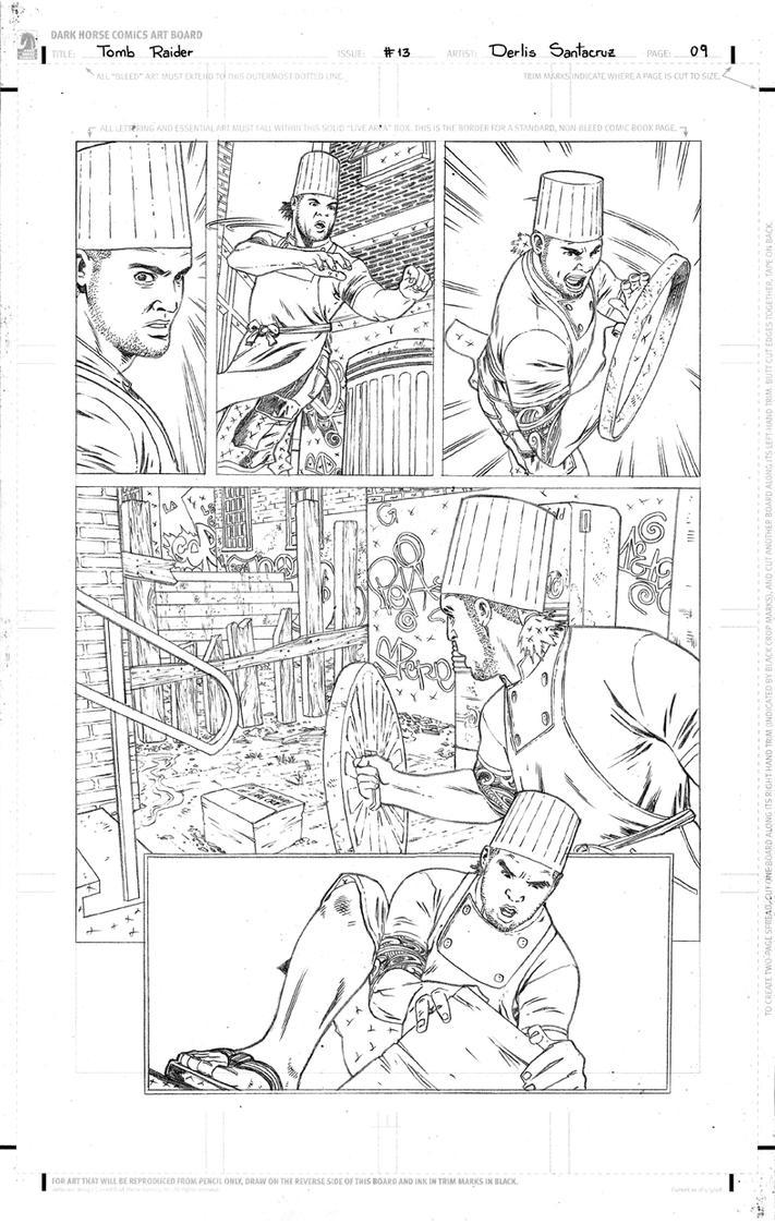 TR #13 Page 09 Pencil Low by derlissantacruz