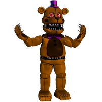 Funtime Nightmare Fredbear by Purpleman88