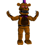 Funtime Nightmare Fredbear by Purpleman88
