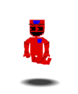 Adventure Red  Man by Purpleman88
