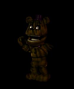 Adventure Phantom Fredbear v.2 by Purpleman88