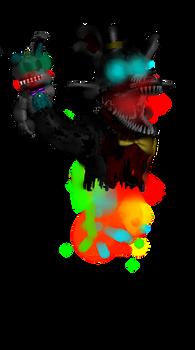 Dreamfull Electro red fox(InkSANESS2016 New Oc)