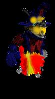 dreamfull Mutation Foxy by Purpleman88