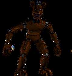 Monster Freddy by Purpleman88
